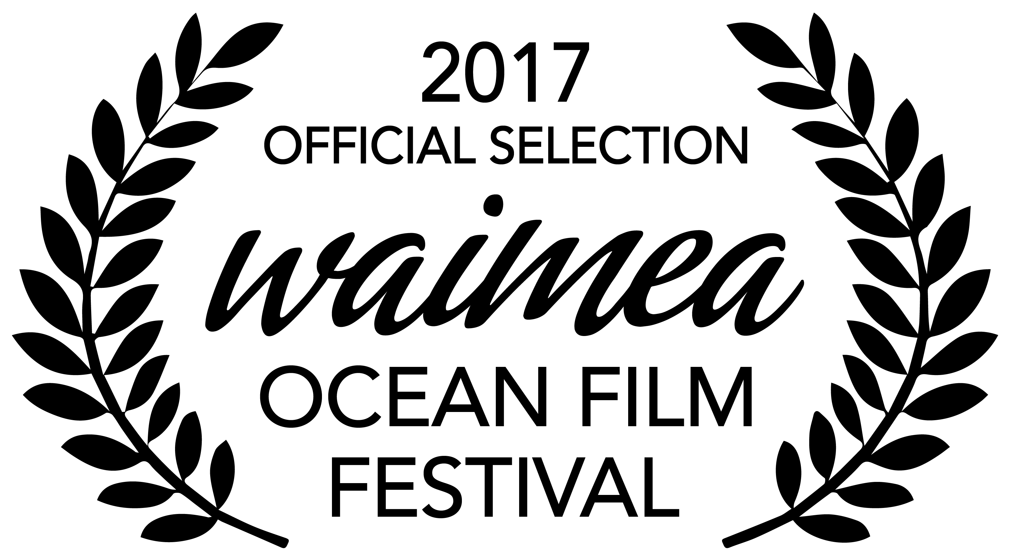 WOFF 17 Official Selection_2017_Black On White_Print
